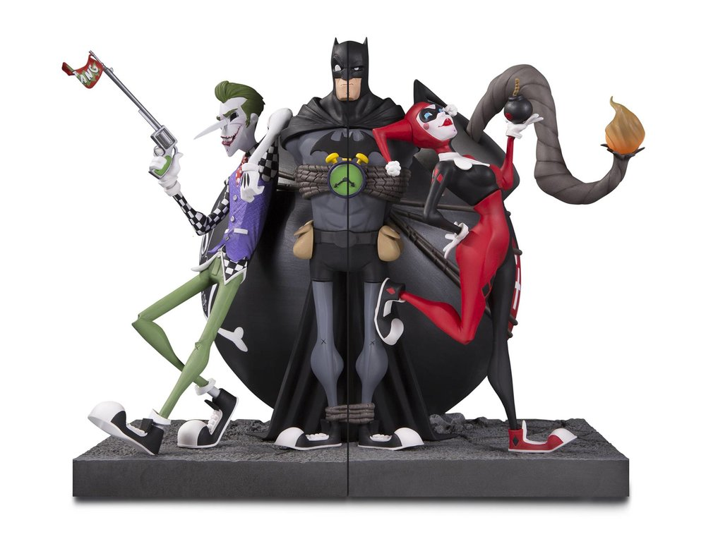 DC GALLERY JOKER & HARLEY QUINN BOOKENDS.jpg