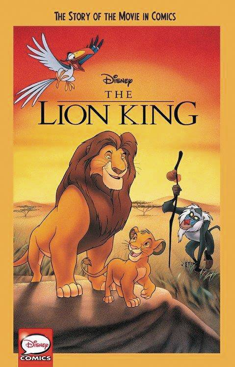 DISNEY LION KING STORY OF MOVIE IN COMICS YA GN.jpg