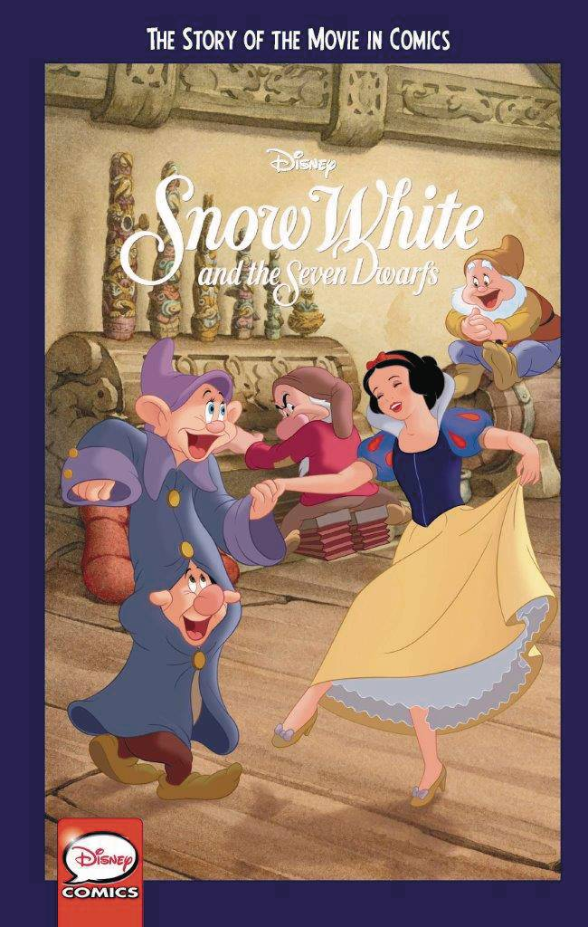 DISNEY SNOW WHITE & 7 DWARFS STORY OF MOVIE IN COMICS YA GN.jpg