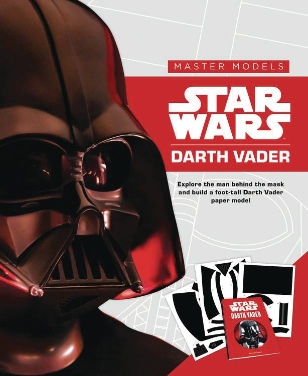 STAR WARS DARTH VADER BOOK WITH PAPER MODEL KIT.jpg