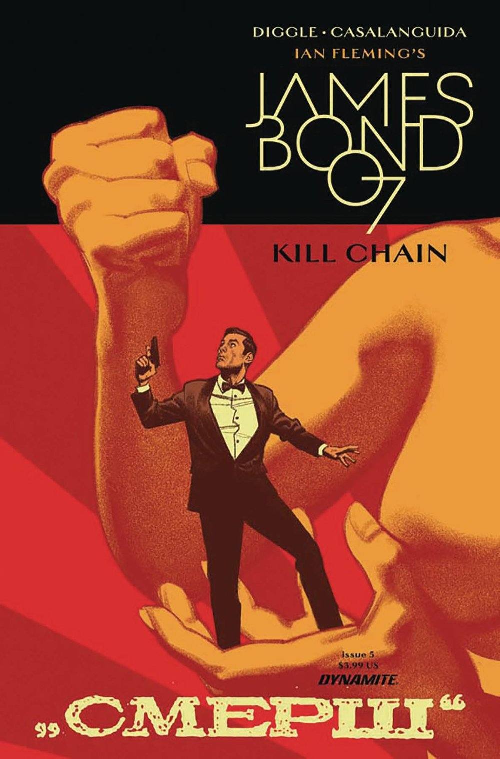 JAMES BOND KILL CHAIN 5 of 6 CVR A SMALLWOOD.jpg