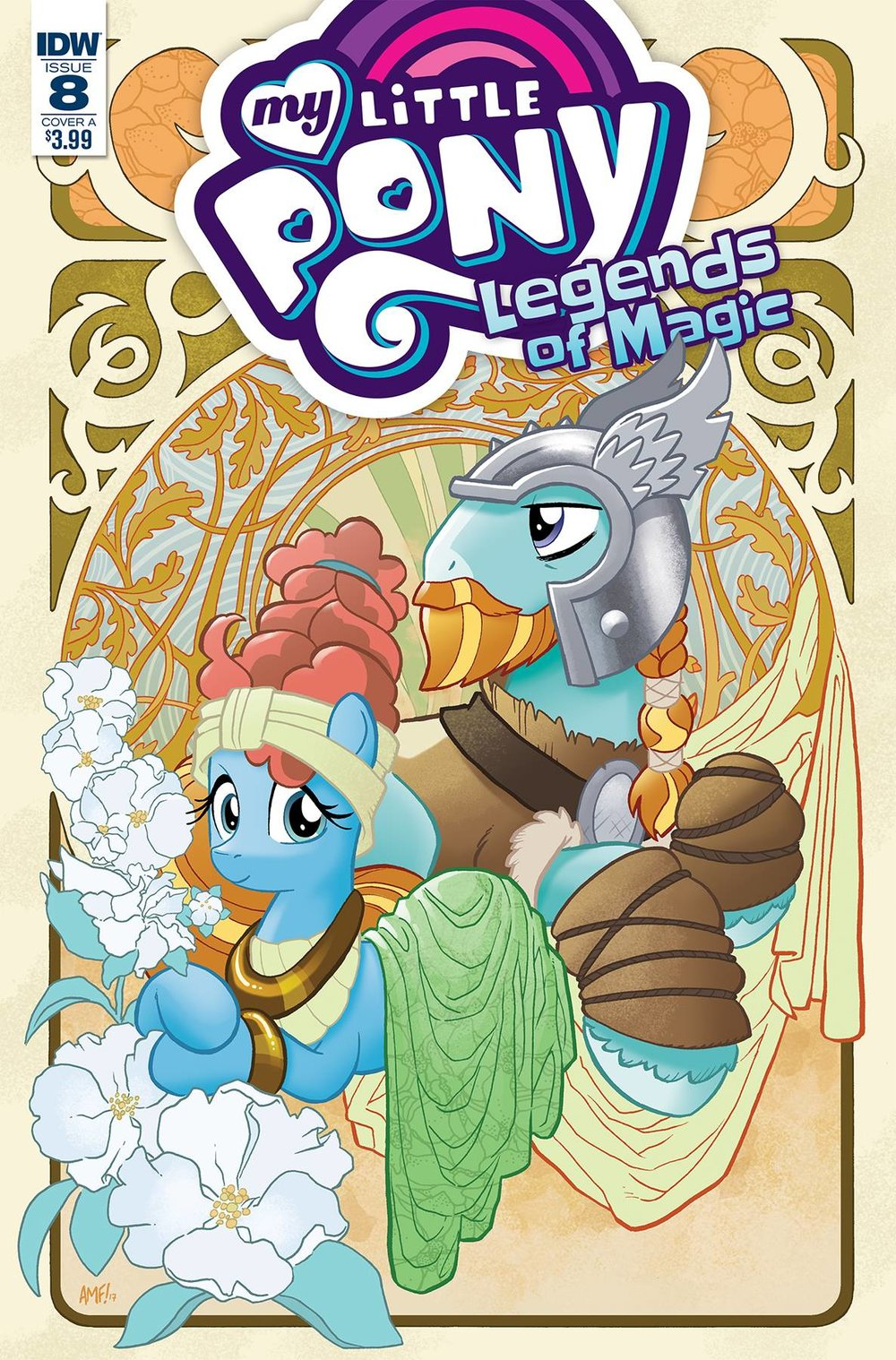 MY LITTLE PONY LEGENDS OF MAGIC 8 CVR A FLEECS.jpg