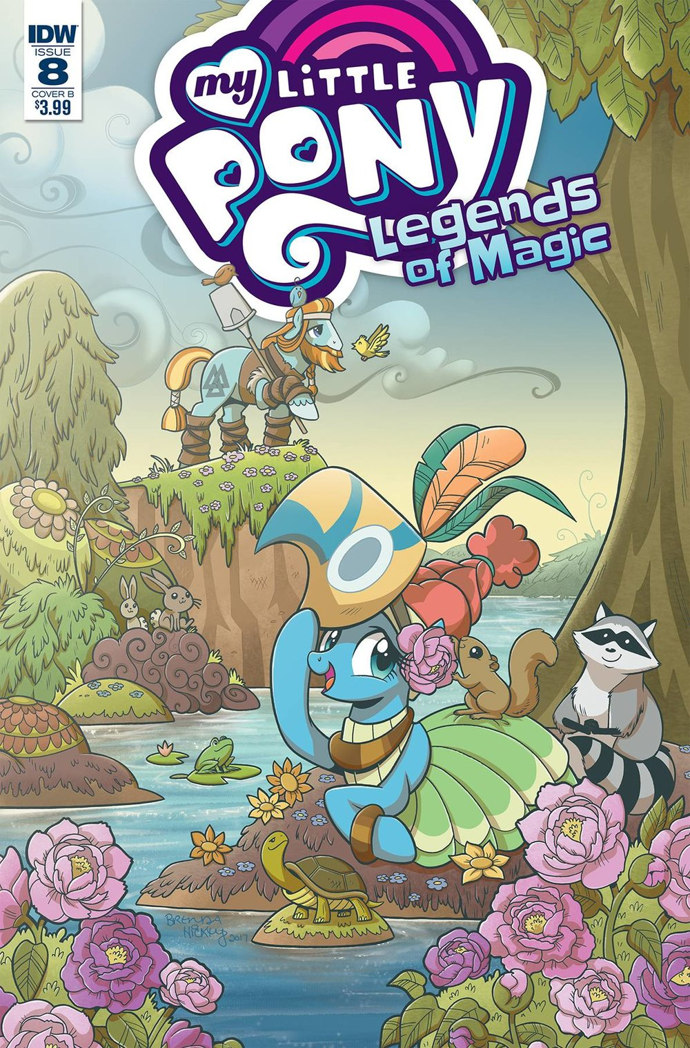 MY LITTLE PONY LEGENDS OF MAGIC 8 CVR B HICKEY.jpg