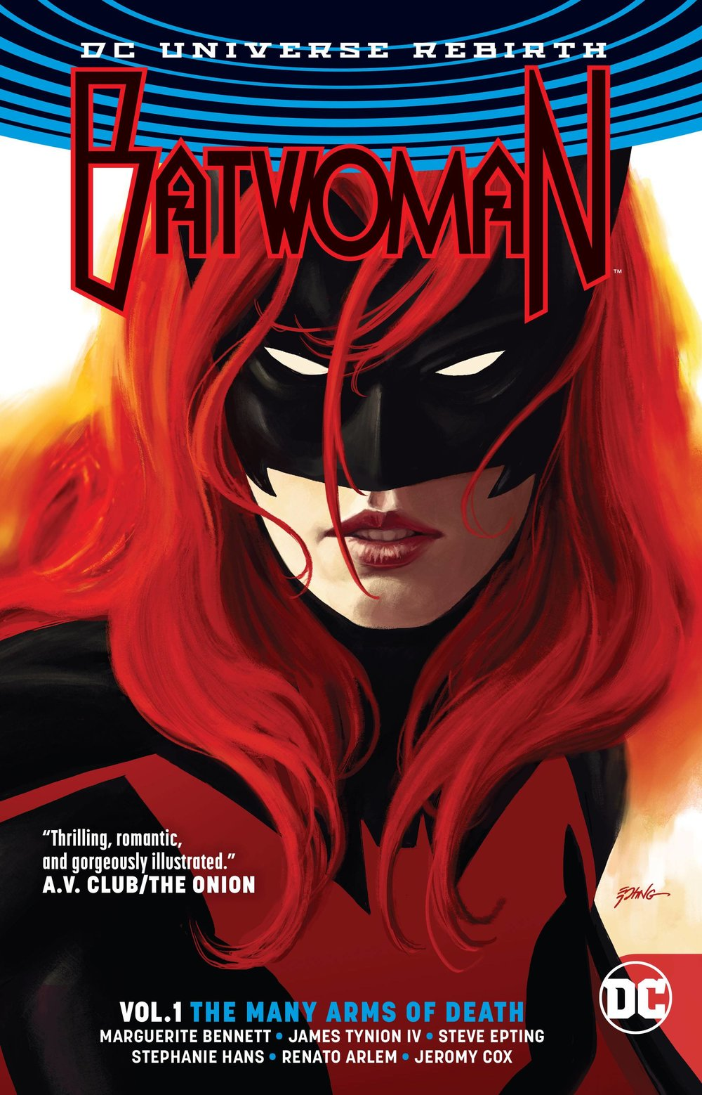 BATWOMAN TP 1 THE MANY ARMS OF DEATH (REBIRTH).jpg