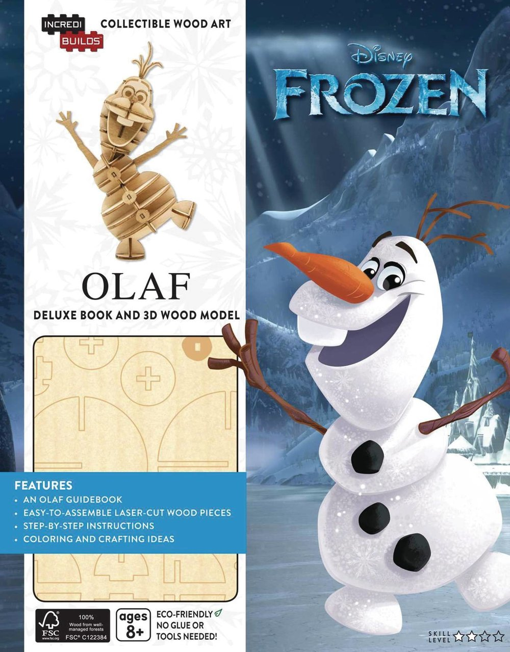 INCREDIBUILDS FROZEN OLAF DLX MODEL W BOOK.jpg