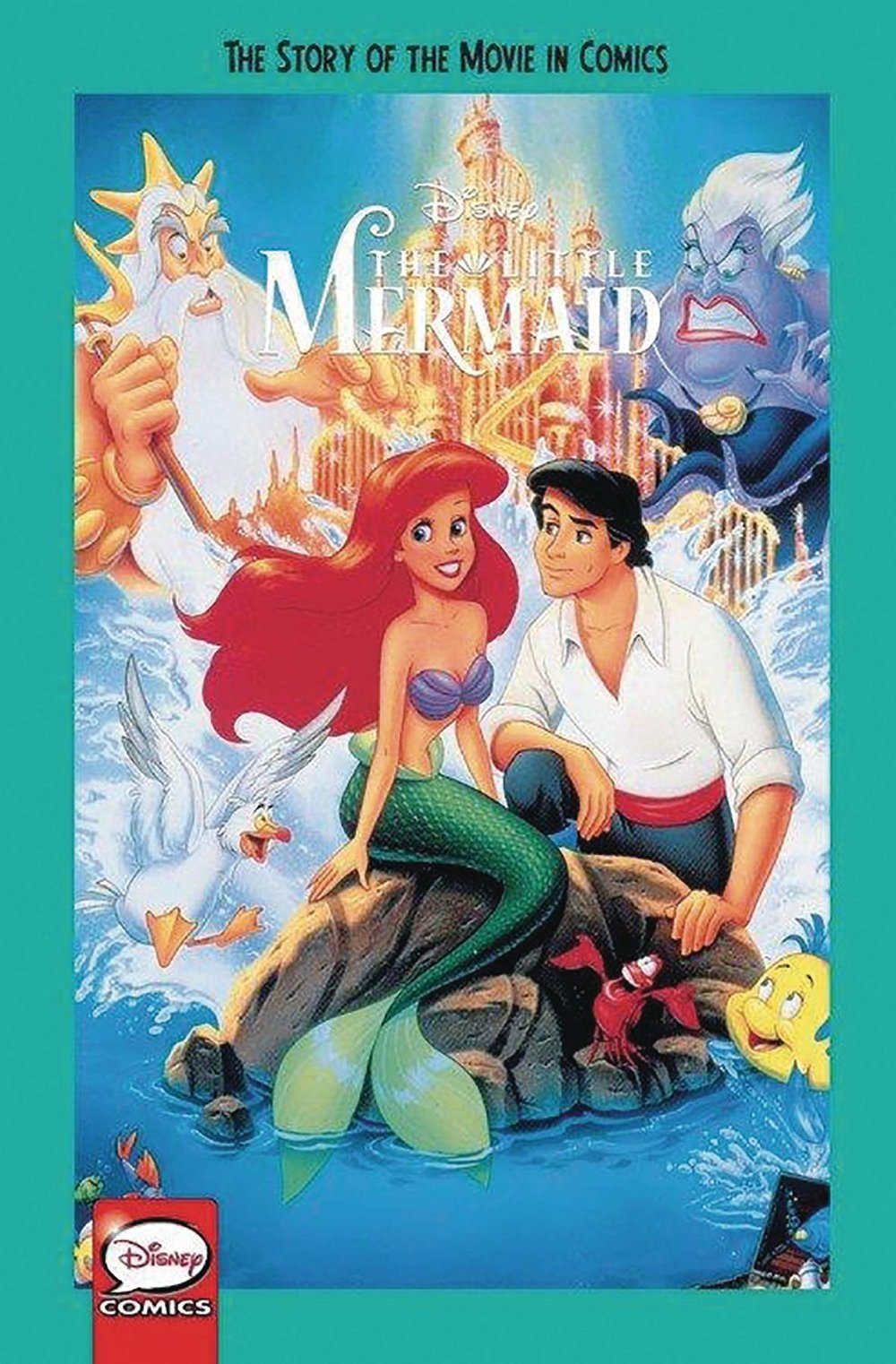DISNEY THE LITTLE MERMAID STORY OF MOVIE IN COMICS YA GN.jpg