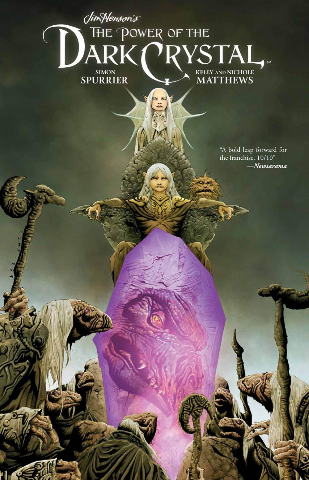 JIM HENSON POWER OF THE DARK CRYSTAL HC 1 of 4.jpg