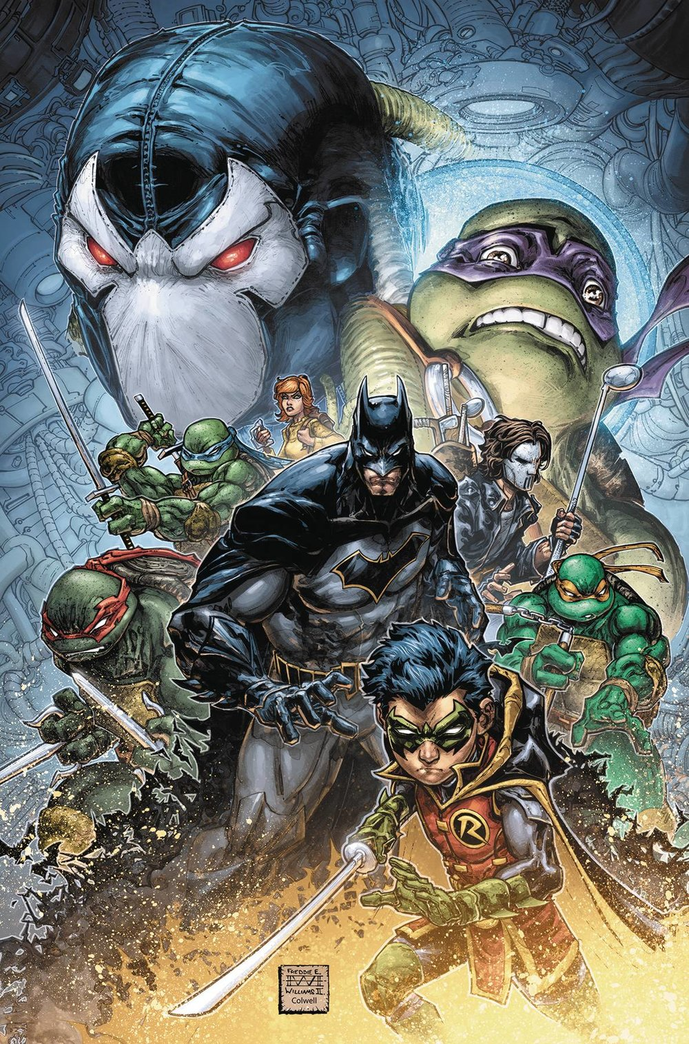 BATMAN TEENAGE MUTANT NINJA TURTLES II 1 of 6.jpg
