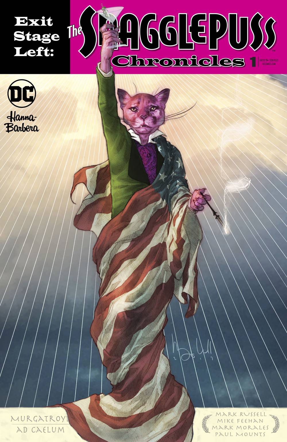 EXIT STAGE LEFT THE SNAGGLEPUSS CHRONICLES 1 of 6.jpg