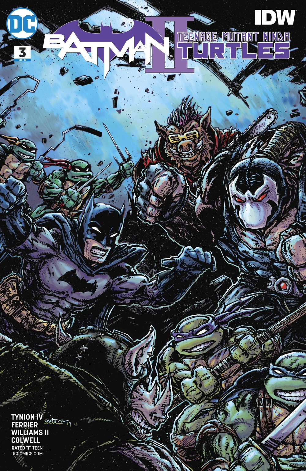 BATMAN TEENAGE MUTANT NINJA TURTLES II 3 of 6 VAR ED (1).jpg