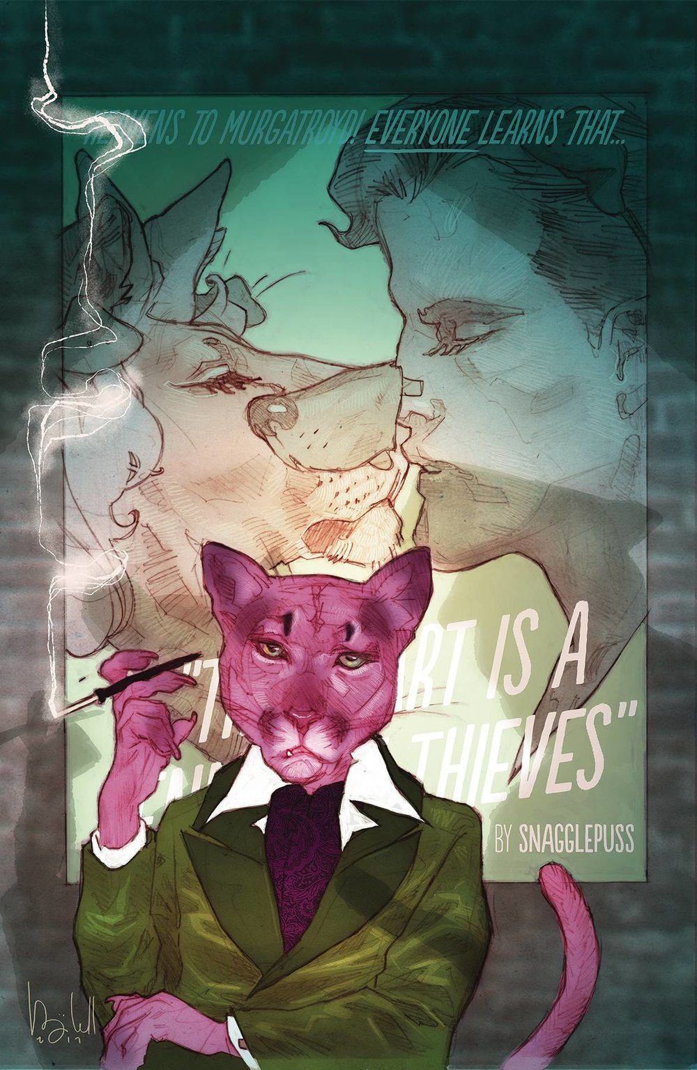 EXIT STAGE LEFT THE SNAGGLEPUSS CHRONICLES 2 of 6.jpg