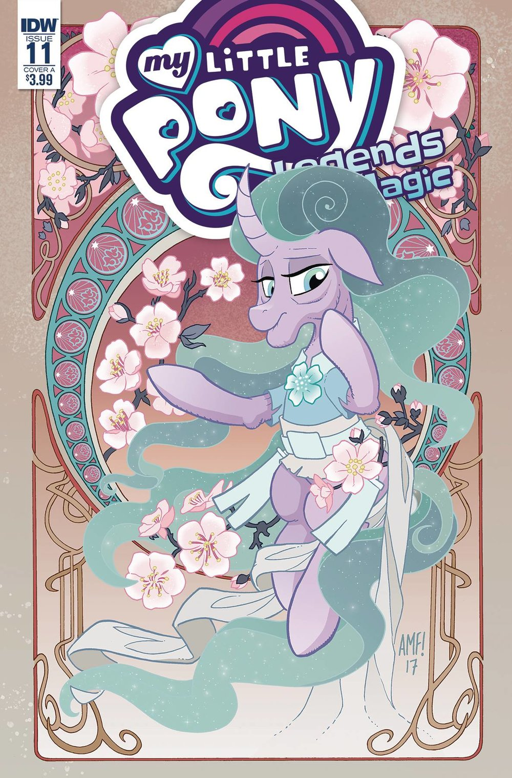 MY LITTLE PONY LEGENDS OF MAGIC 11 CVR A FLEECS.jpg