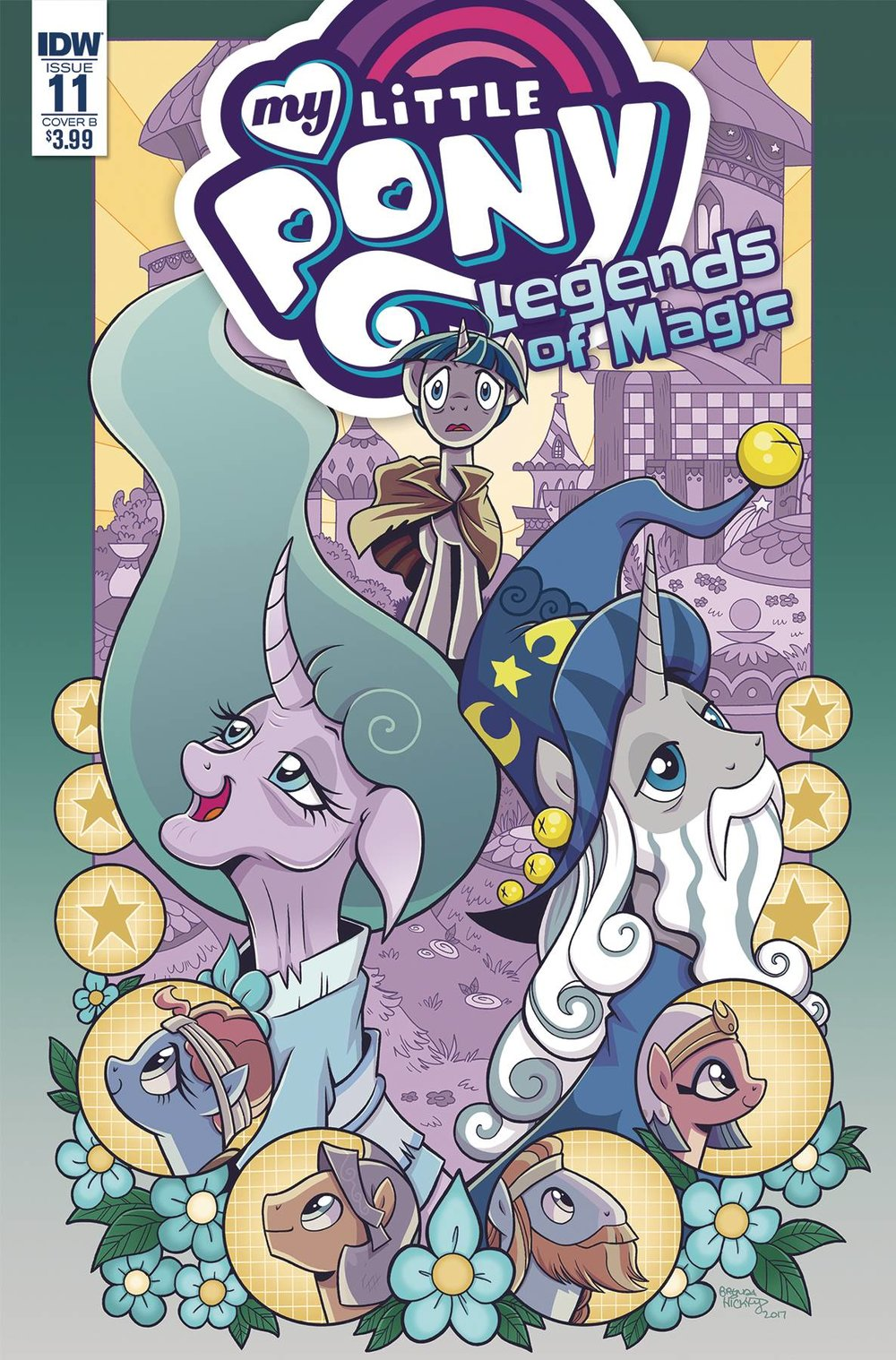 MY LITTLE PONY LEGENDS OF MAGIC 11 CVR B HICKEY.jpg