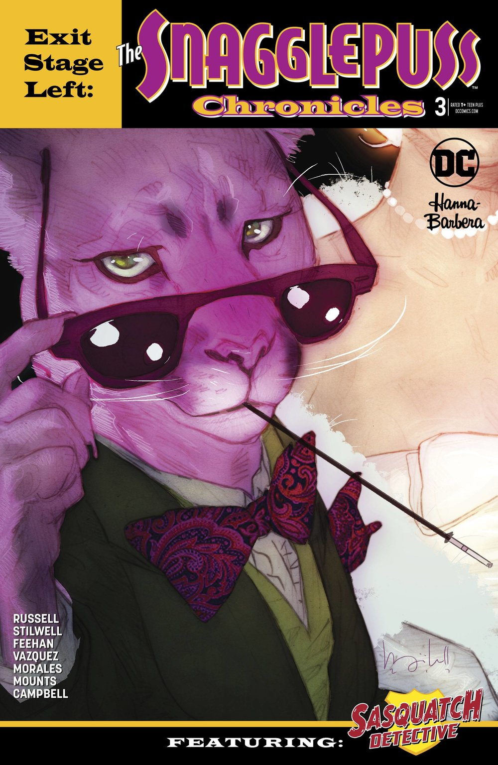EXIT STAGE LEFT THE SNAGGLEPUSS CHRONICLES 3 of 6.jpg