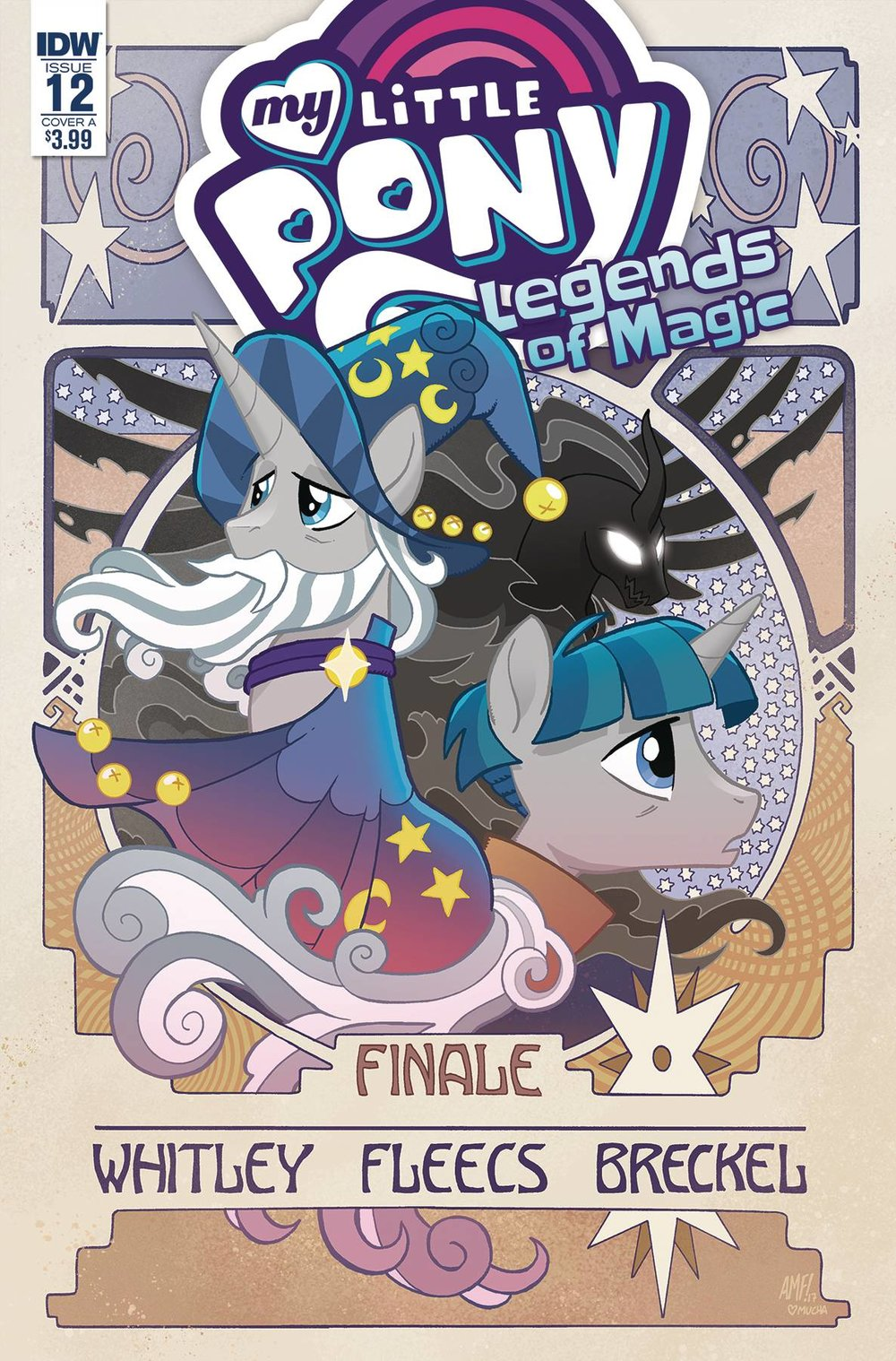 MY LITTLE PONY LEGENDS OF MAGIC 12 CVR A FLEECS.jpg