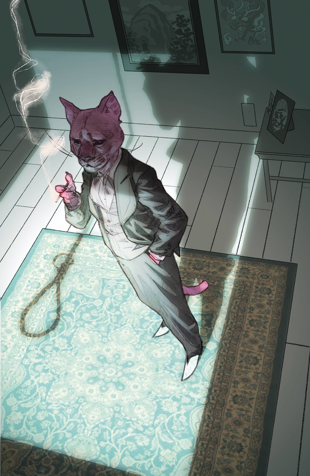 EXIT STAGE LEFT THE SNAGGLEPUSS CHRONICLES 5 of 6.jpg