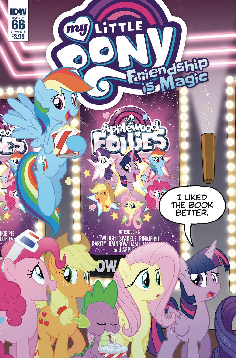 MY LITTLE PONY FRIENDSHIP IS MAGIC 66 CVR A FLEECS.jpg