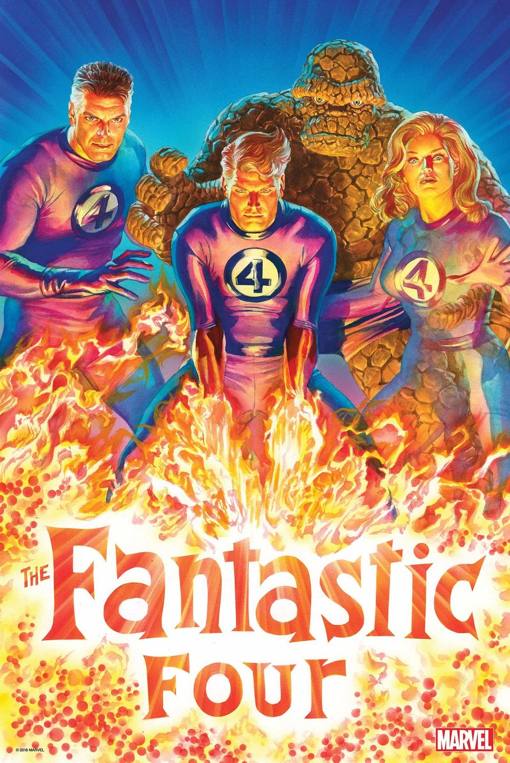 FANTASTIC FOUR 2018 BY ALEX ROSS POSTER.jpg