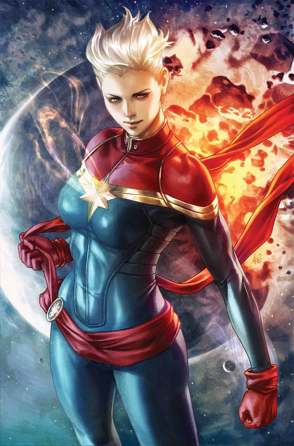 LIFE OF CAPTAIN MARVEL BY ARTGERM POSTER.jpg
