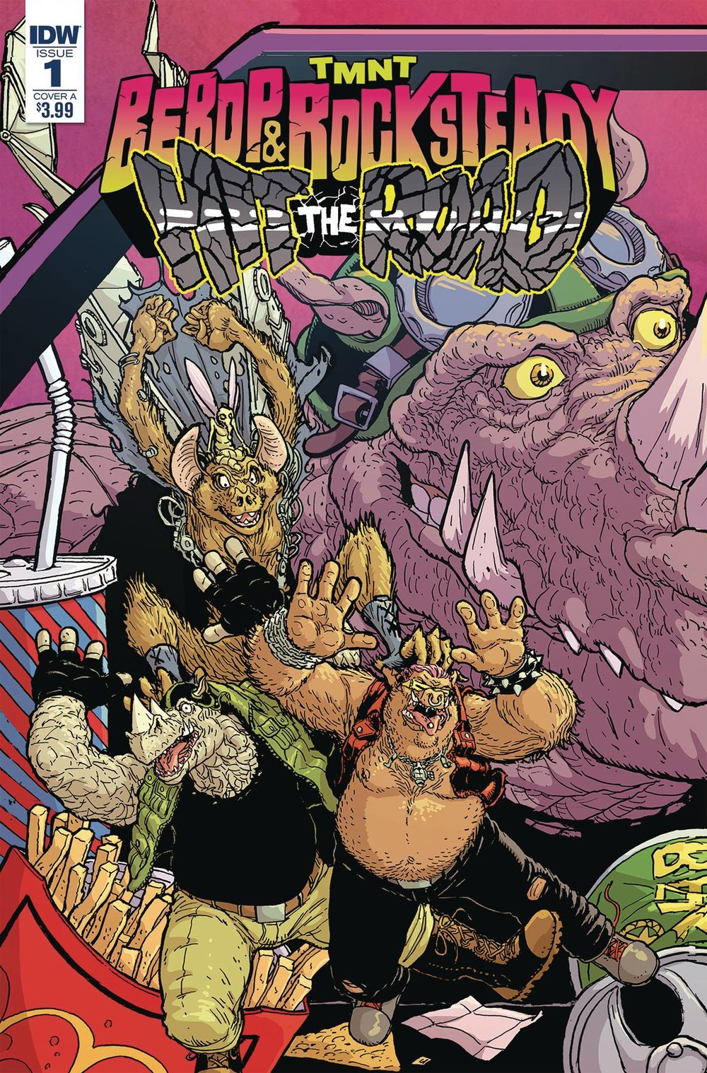 TMNT BEBOP ROCKSTEADY HIT THE ROAD 1 of 5 CVR A PITARRA.jpg