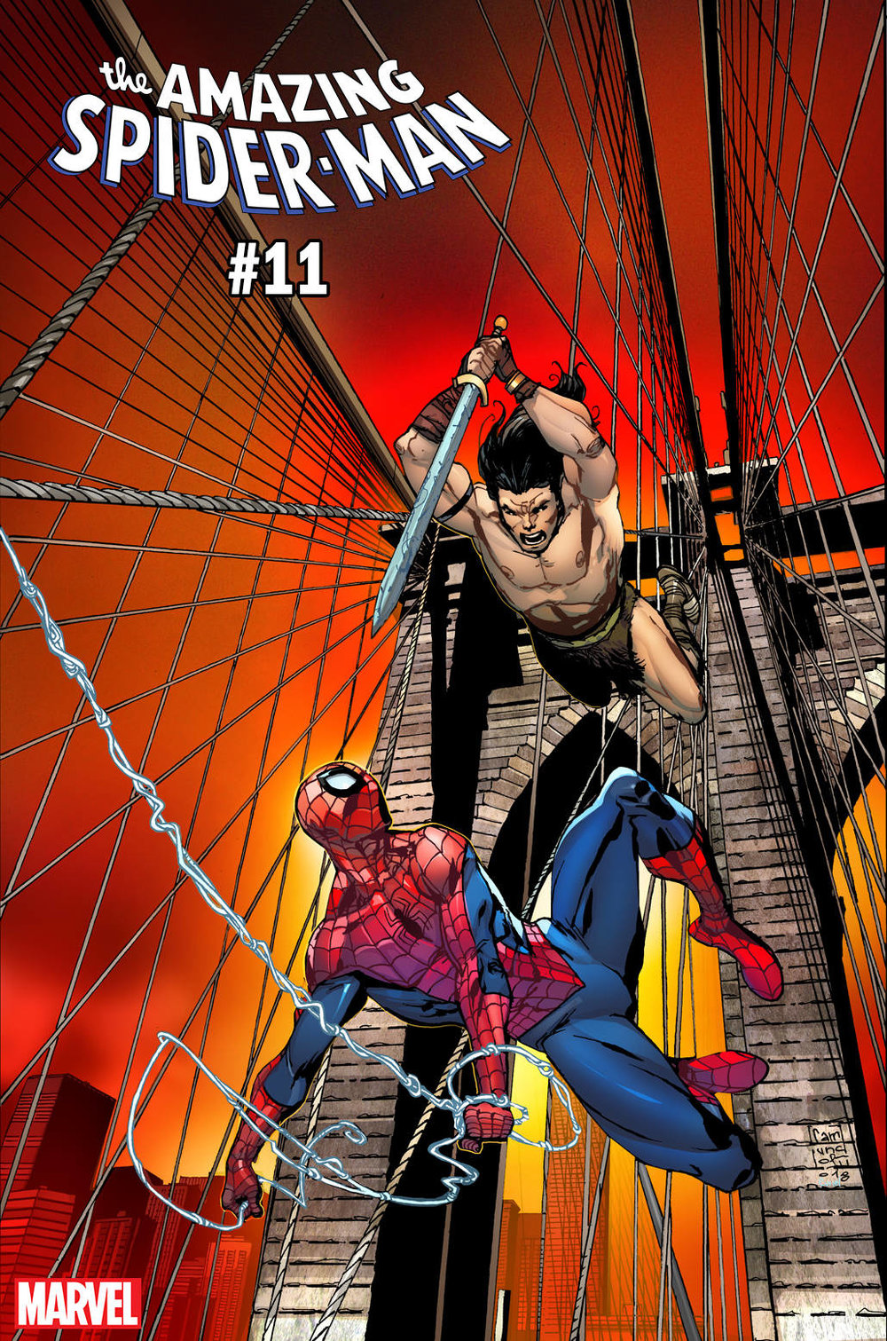 AMAZING SPIDER-MAN 11 CAMUNCOLI CONAN VS MARVEL VAR.jpg