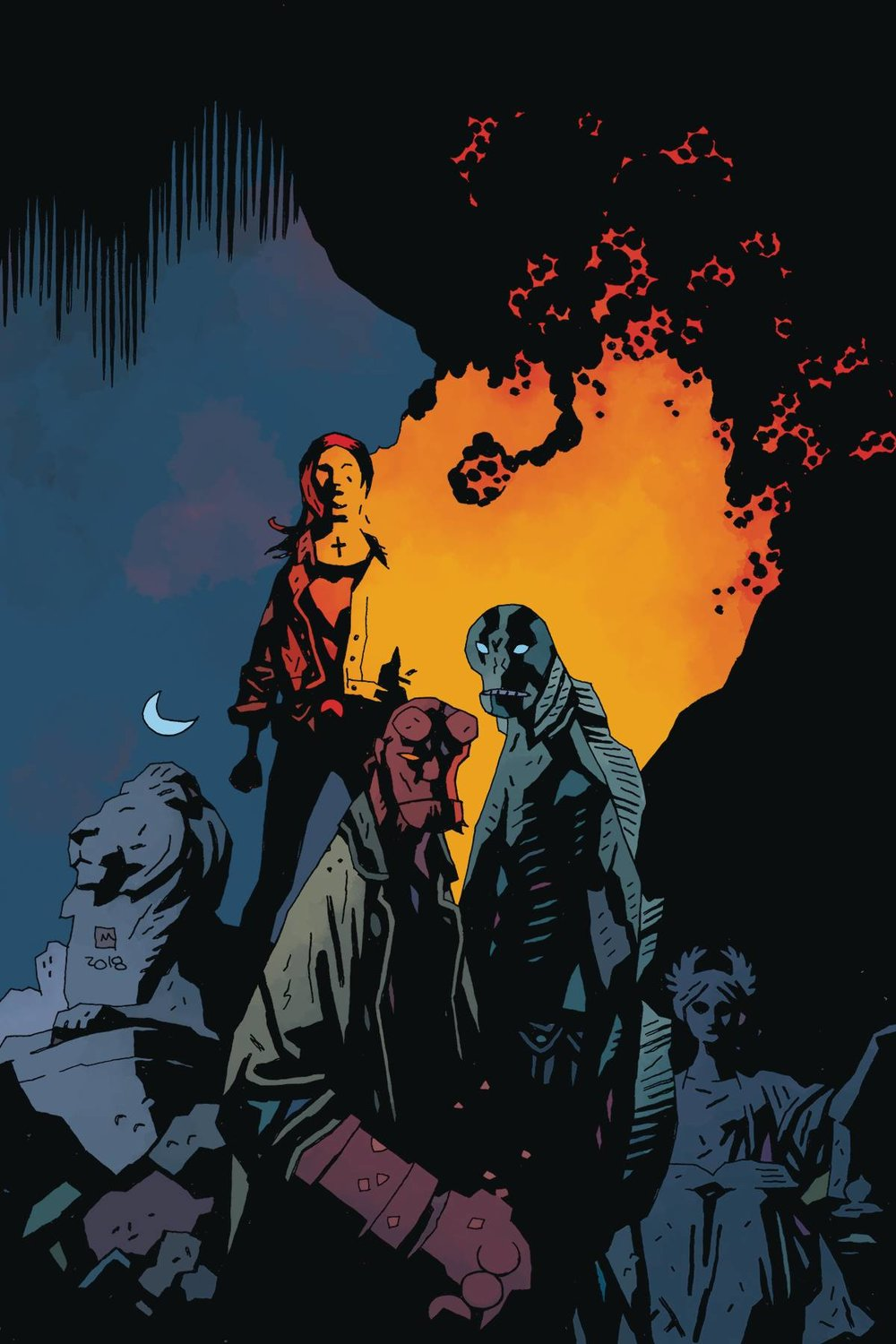 BPRD DEVIL YOU KNOW 11 CVR A MIGNOLA.jpg
