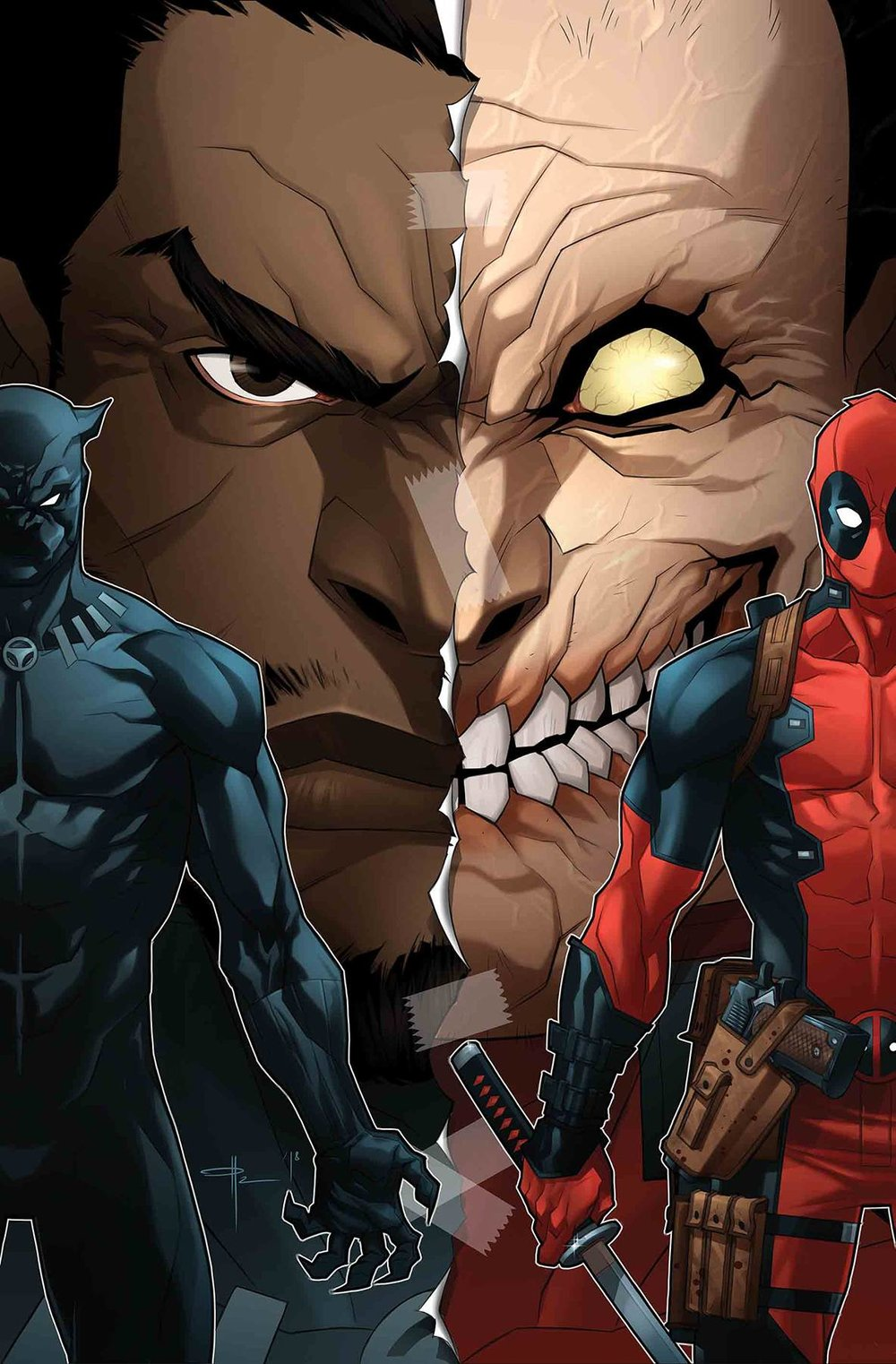 BLACK PANTHER VS DEADPOOL 3 of 5 YILDRIM VAR.jpg