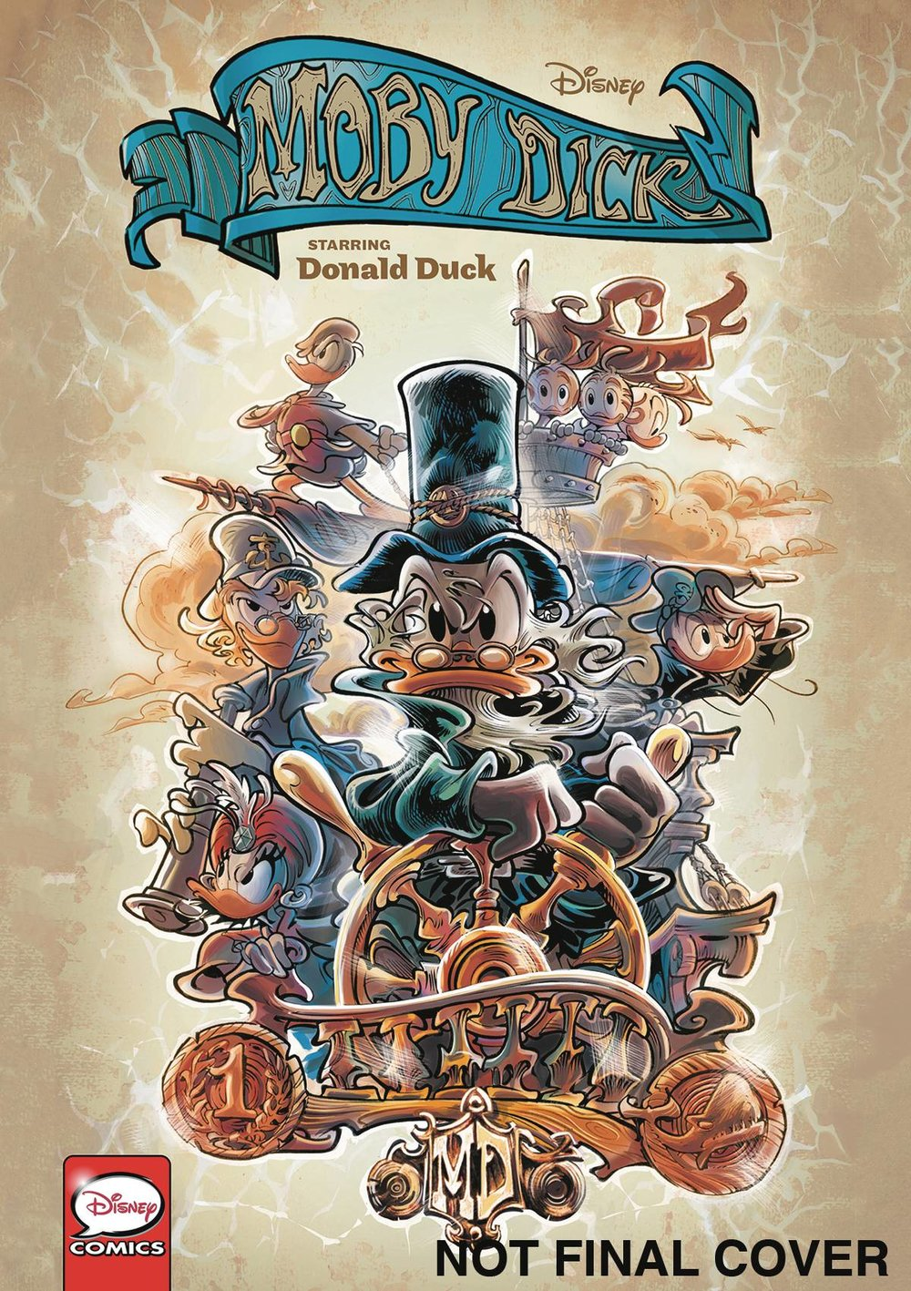 DISNEY CLASSICS MOBY DICK STARRING DONALD DUCK.jpg