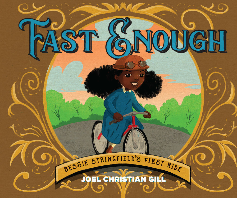 FAST ENOUGH BESSIE STRINGFIELDS FIRST RIDE HC STORY BOOK.jpg