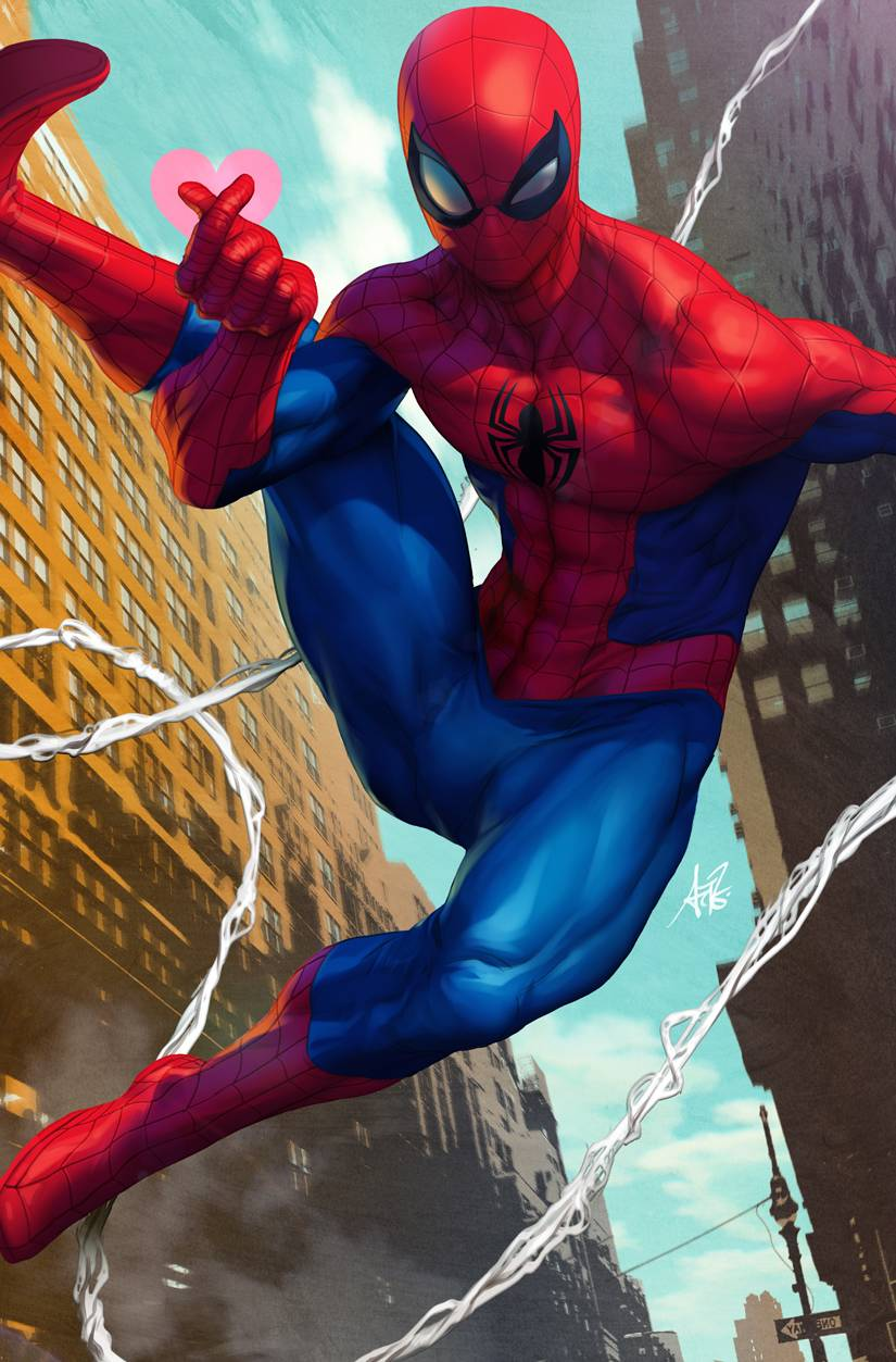 FRIENDLY NEIGHBORHOOD SPIDER-MAN 1 ARTGERM VAR.jpg