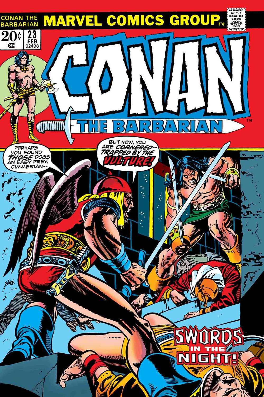 TRUE BELIEVERS CONAN SWORDS IN NIGHT 1.jpg