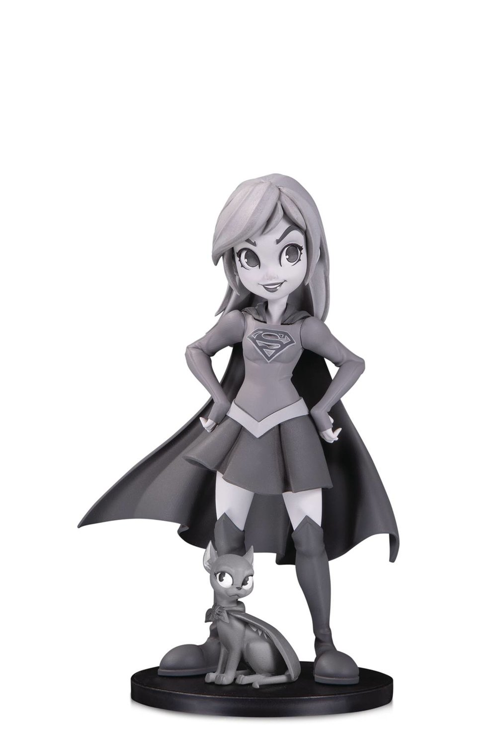 DC ARTISTS ALLEY SUPERGIRL B&W BY ZULLO PVC FIGURE.jpg