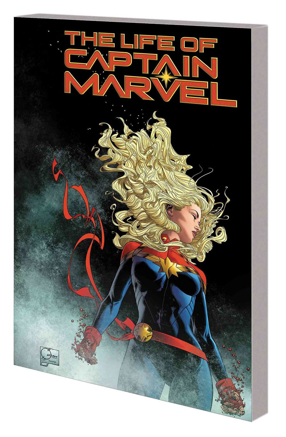 LIFE OF CAPTAIN MARVEL TP QUESADA DM VAR.jpg