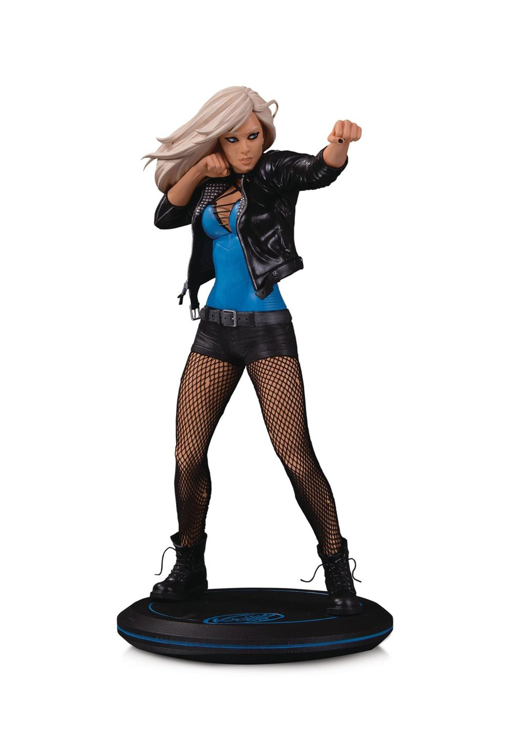 DC COVER GIRLS BLACK CANARY BY JOELLE JONES STATUE.jpg