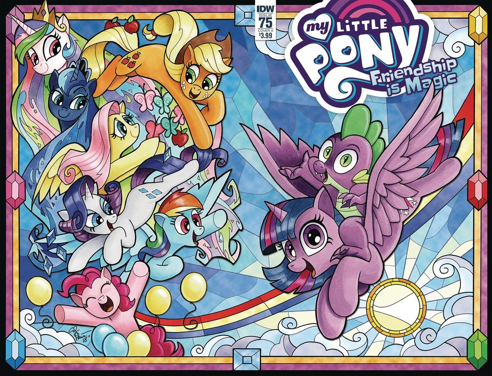 MY LITTLE PONY FRIENDSHIP IS MAGIC 75 CVR A PRICE.jpg
