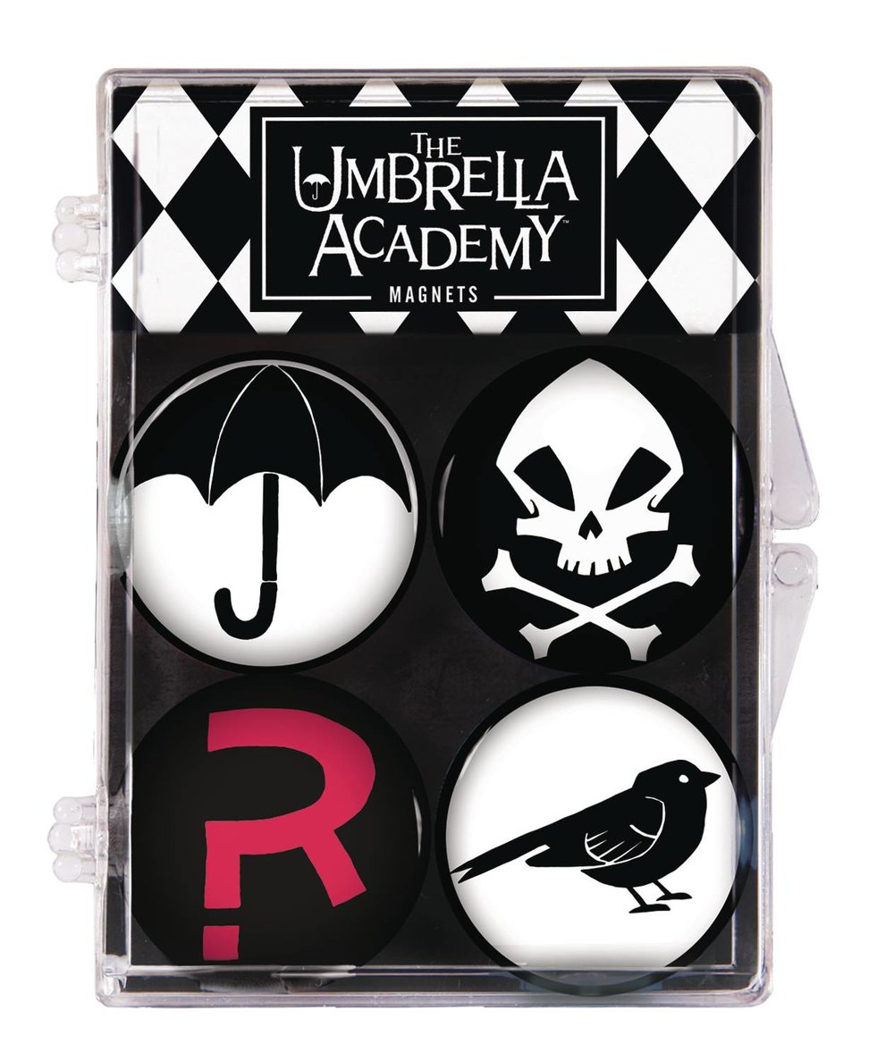 UMBRELLA ACADEMY 4 PACK MAGNET SET.jpg