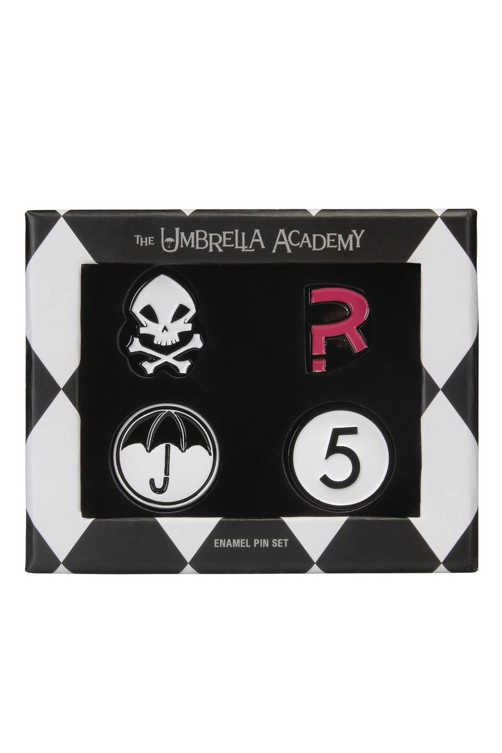 UMBRELLA ACADEMY ENAMEL PIN SET.jpg