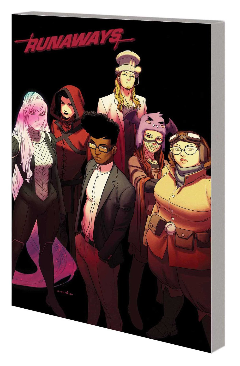RUNAWAYS BY ROWELL AND ANKA TP 3 THAT WAS YESTERDAY.jpg