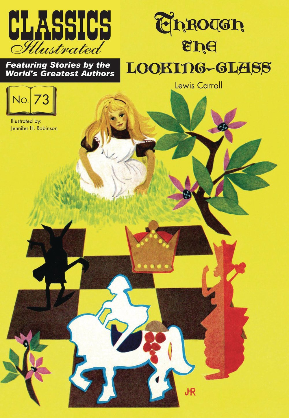 CLASSIC ILLUSTRATED TP THROUGH LOOKING GLASS.jpg