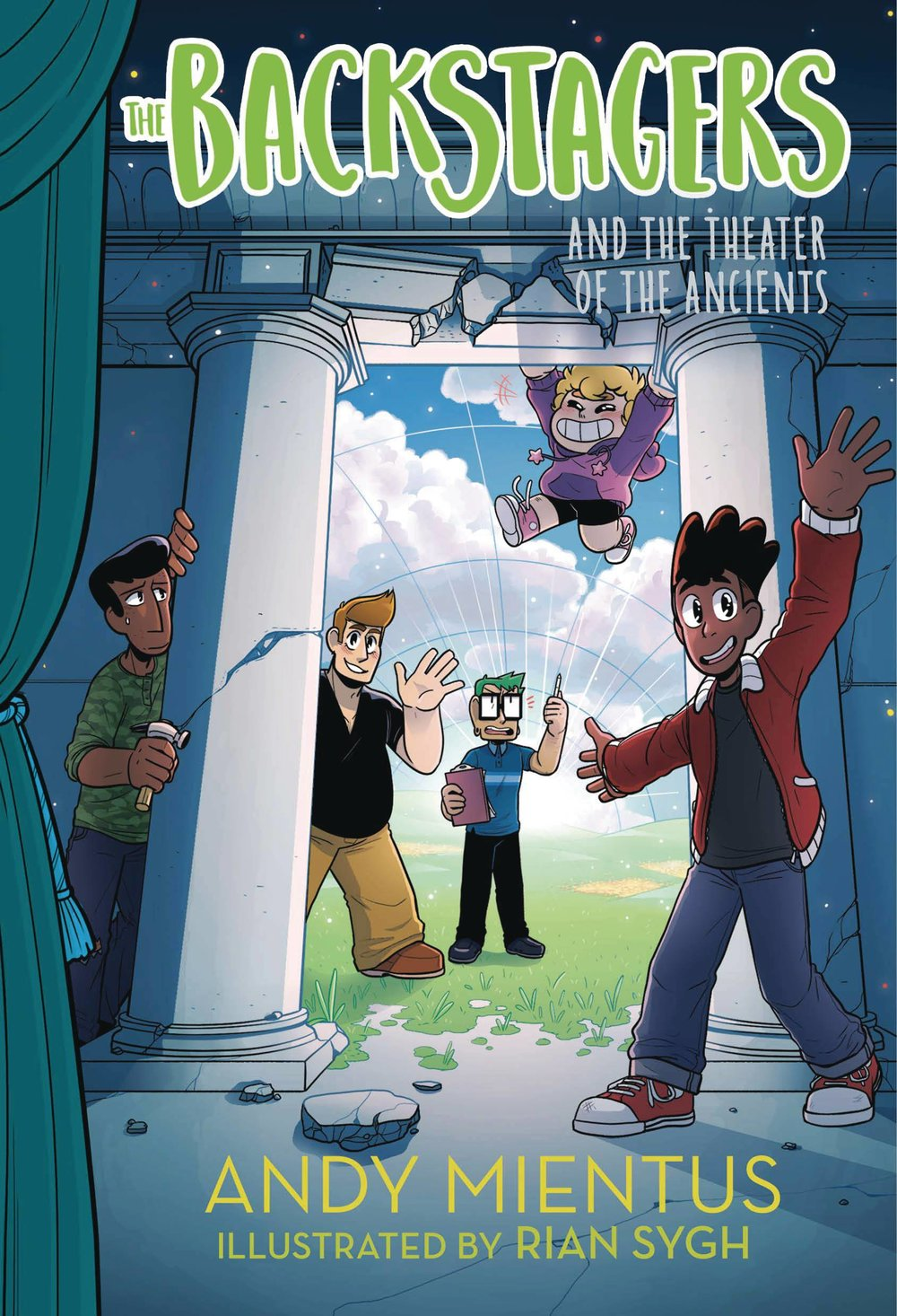 BACKSTAGERS ILLUS HC NOVEL 2 THEATRE OF ANCIENTS.jpg