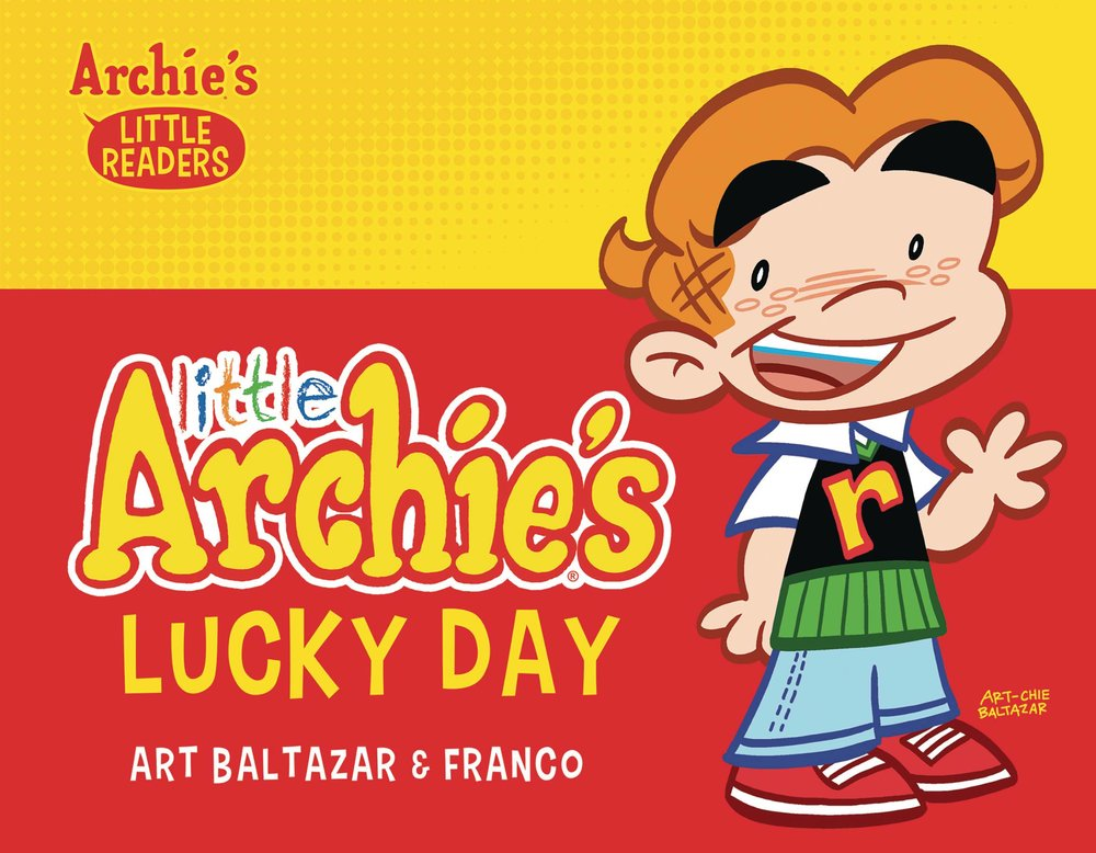LITTLE ARCHIES LUCKY DAY PICTURE BOOK HC.jpg