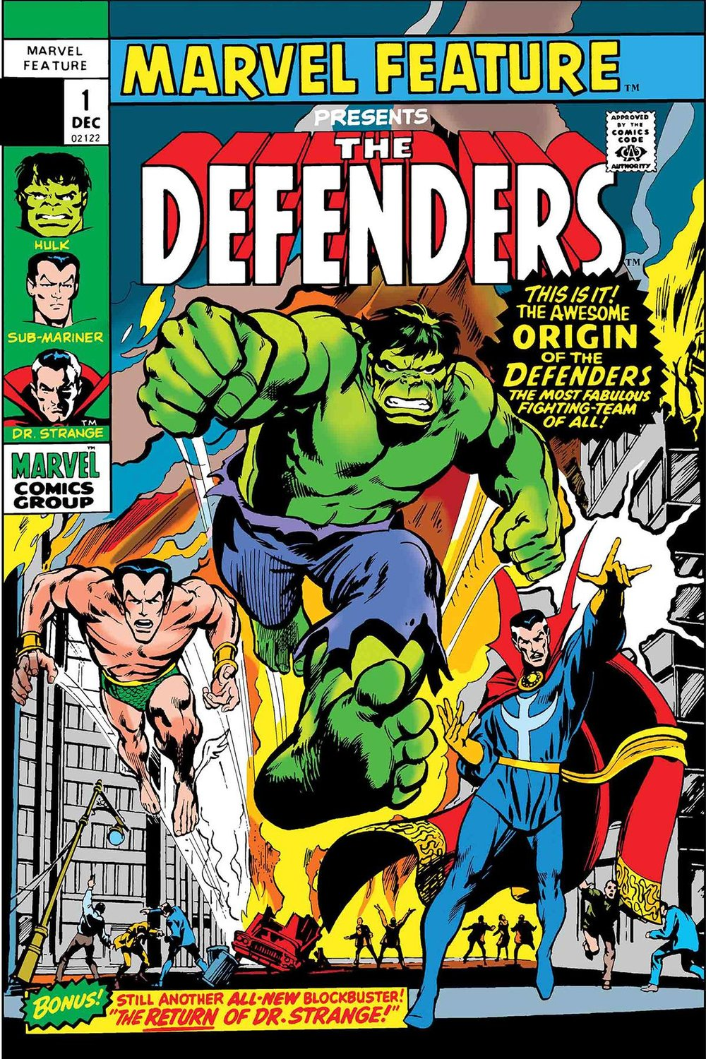 DEFENDERS MARVEL FEATURE 1 FACSIMILE EDITION.jpg