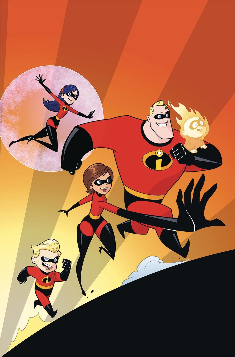 DISNEY INCREDIBLES 2 SECRET IDENTITIES 2 of 3 CVR B KAWAII CREATIVE STUDIO.jpg