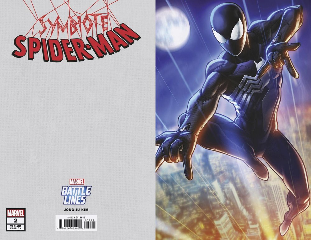 SYMBIOTE SPIDER-MAN 2 of 5 JONGJU KIM MARVEL BATTLE LINES VAR.jpg