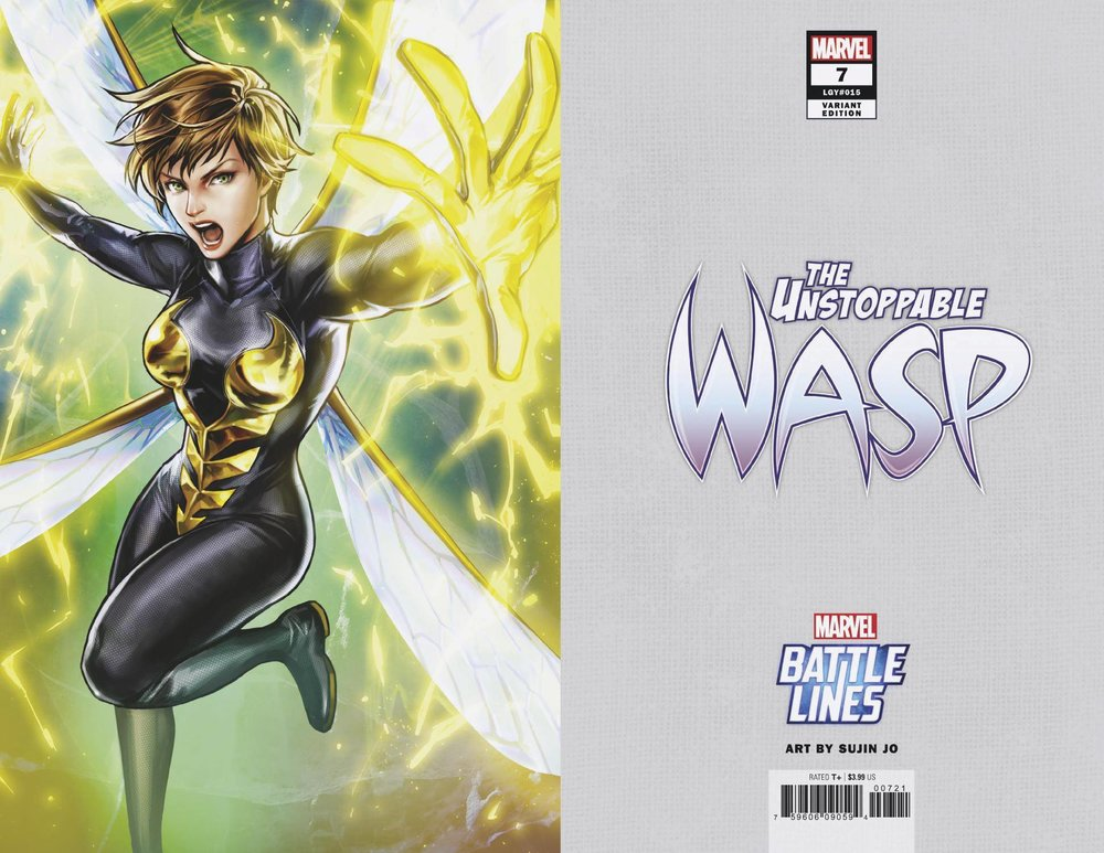 UNSTOPPABLE WASP 7 SUJIN JO MARVEL BATTLE LINES VAR.jpg