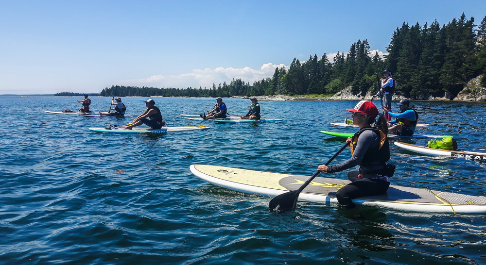 Paddle Canada SUP Instructor Training, LaHave Islands