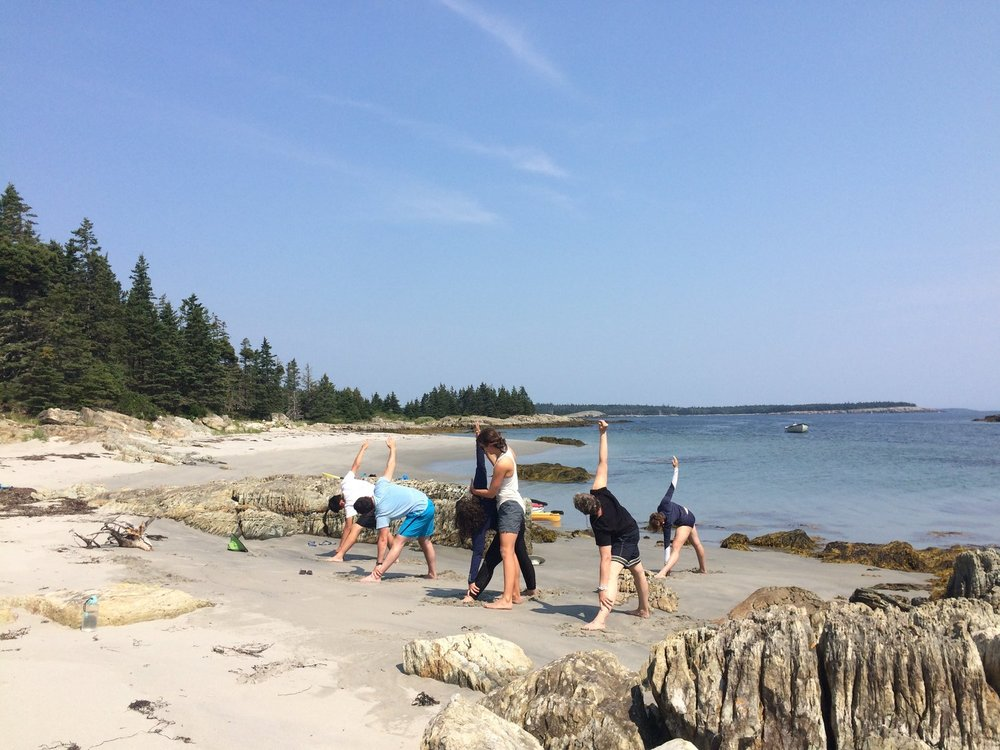Sarah will continue to offer both multiday and day tours with beach yoga, to help you stretch out your paddling muscles, and get the most from your adventures.
