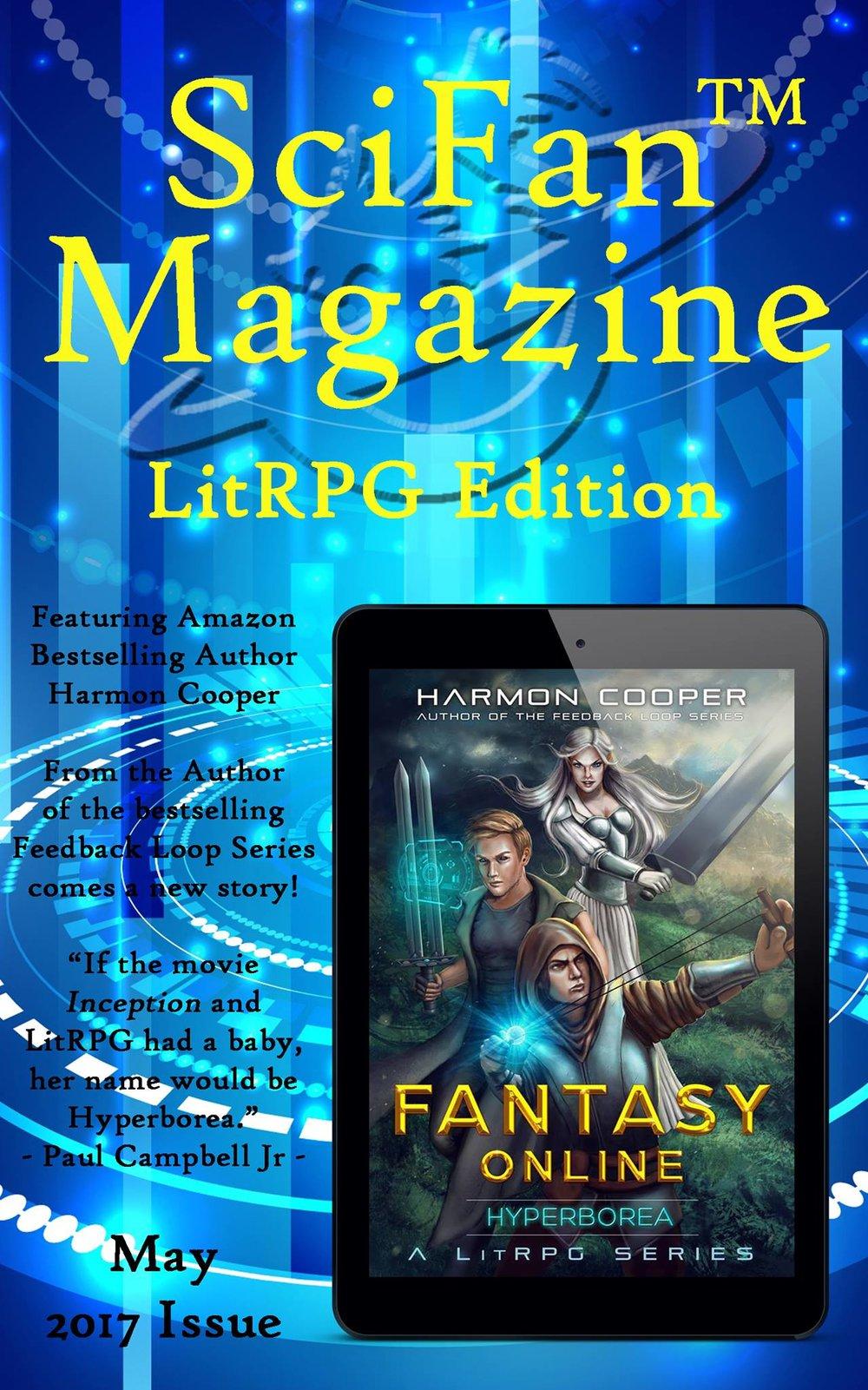 SciFan Magazine LitRPG Edition