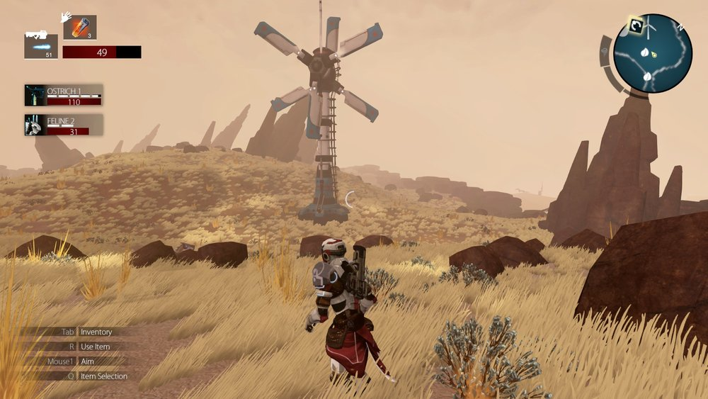 Windmill Where Upgrades Are Obtained