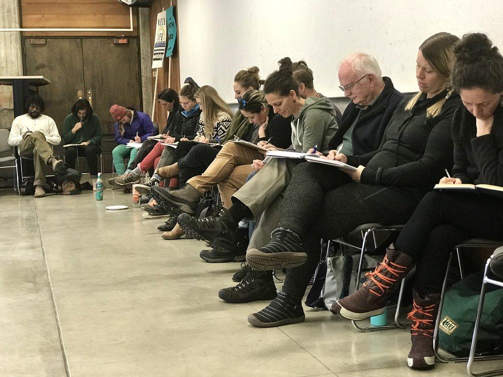 Storytelling Workshop at ARTivism: Mobilizing the Climate Movement
